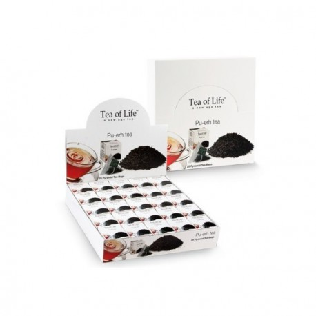 Tea Of Life Herbata czerwona Pu-ehr w piramidkach