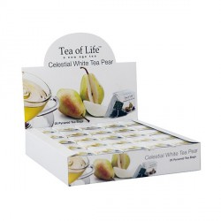 Tea Of Life Herbata biała z gruszką w piramidkach