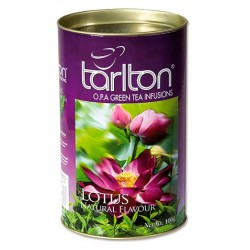 Herbata zielona z lotosem 100g TARLTON