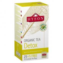 Herbata zielona Organic Tea - Detox 30 saszetek HYSON