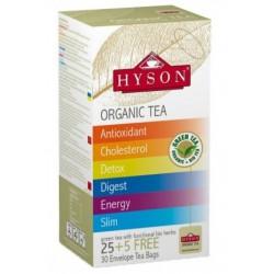 Herbata zielona Organic Tea - MIX 30 szt. HYSON