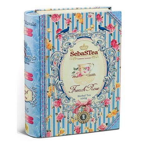 Rooibos French Rose 100g SEBASTEA