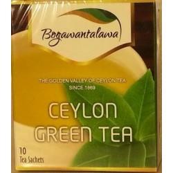 Herbata zielona cejlońska 10x2g BOGAWANTALAWA