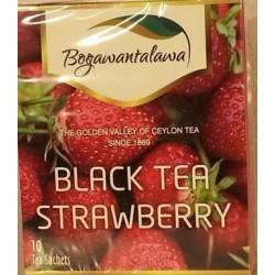 Herbata czarna Truskawka 10x2g BOGAWANTALAWA