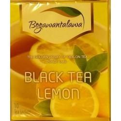 Herbata czarna Cytryna 10x2g BOGAWANTALAWA