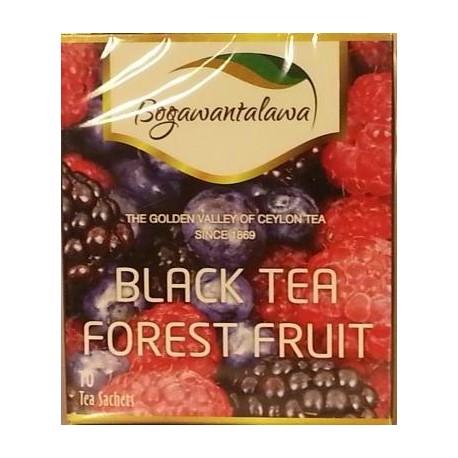 Herbata czarna Owoce Leśne 10x2g BOGAWANTALAWA