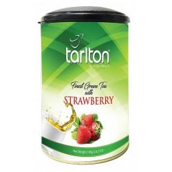 Herbata zielona Truskawka 100g TARLTON