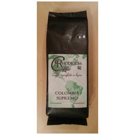 COLOMBIA SUPREMO Kawa ziarnista 100% arabica 250g RHODIGIUM CAFFE