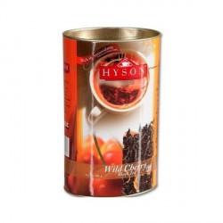 Herbata czarna (80%) + zielona (20%) Wild Cherry 100g HYSON