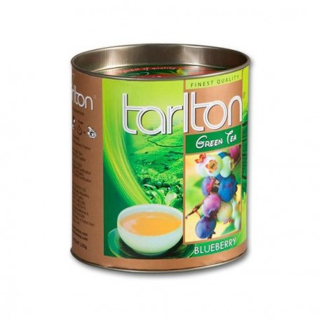 Herbata zielona GP1 Jagoda 100g TARLTON