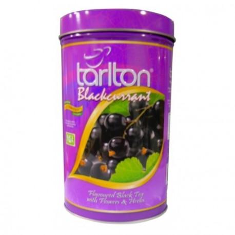 Herbata czarna z czarną porzeczką 100g TARLTON